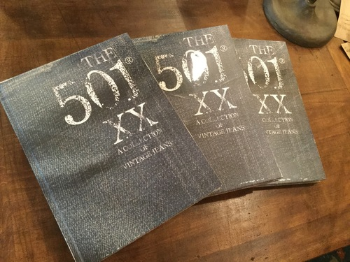 The 501XX: a collection of vintage jeans
