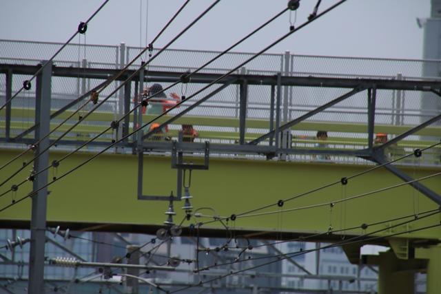 東海道本線JR岸辺駅にて・・・・貨物列車レッドサンダーに逢う _d0181492_219242.jpg