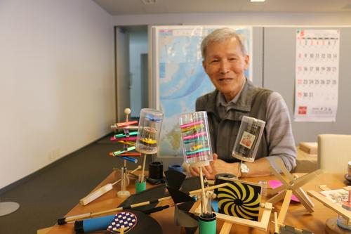 富川 義郎名誉教授にお越し頂き、重文本館展示室の整備の打ち合わせ&準備を行う_c0075701_21212352.jpg
