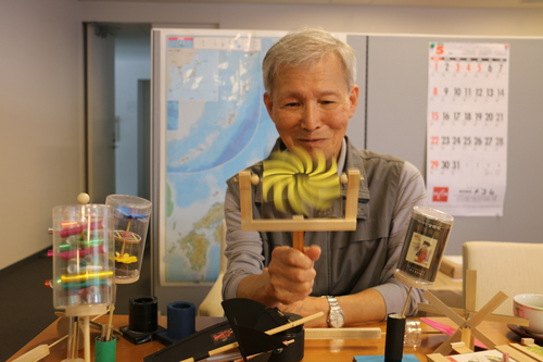 富川 義郎名誉教授にお越し頂き、重文本館展示室の整備の打ち合わせ&準備を行う_c0075701_2121598.jpg