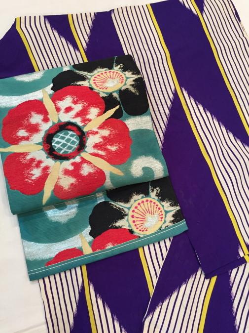本日から♪萩・芒・矢羽根・白赤小紋着物♪販売商品46_c0321302_00375056.jpg