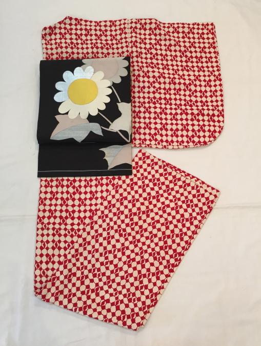 本日から♪萩・芒・矢羽根・白赤小紋着物♪販売商品46_c0321302_00384156.jpg