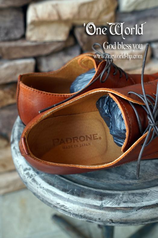PADRONE短靴の入荷!_a0155932_20335264.jpg