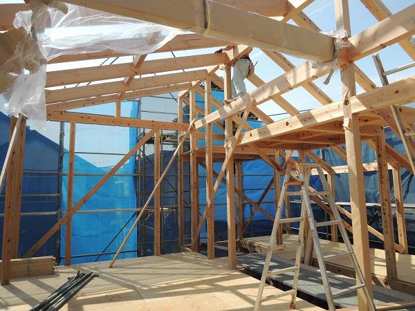 『高井戸の家』 上棟しました。_c0019551_13592446.jpg
