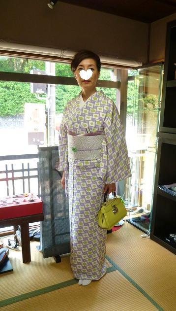 ファッションカンタータのお客様・小糸染芸の着物、帯_f0181251_17395960.jpg
