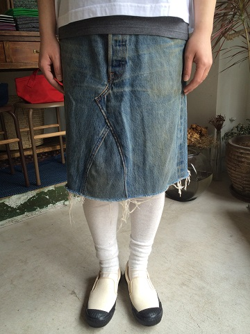 Rebuild by Needles : Monkey Cut Jean Skirt_a0234452_1910114.jpg