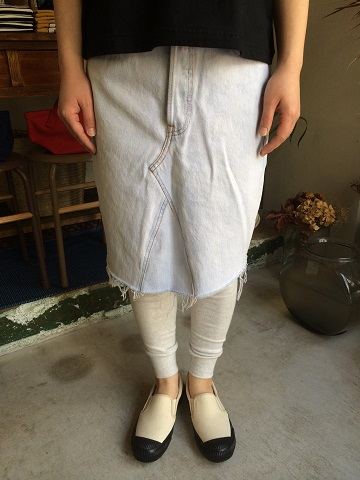 Rebuild by Needles : Monkey Cut Jean Skirt_a0234452_19164312.jpg