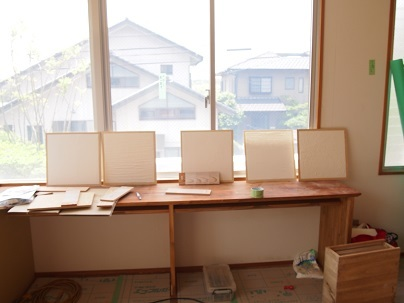 鉄筋コンクリートのリノベーション 漆喰工事_e0010955_19221026.jpg