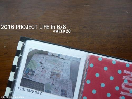 6×8インチで2016年プロジェクトライフ#WEEK20_d0285885_1640561.jpg