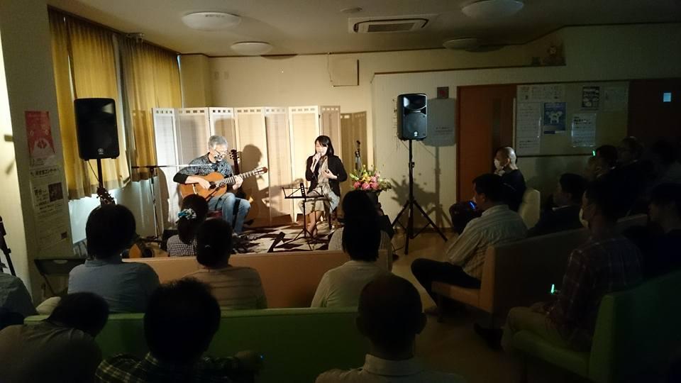 野分@さいとう小児科待合室コンサート~夢灯野外ステージ_a0334793_15354867.jpg