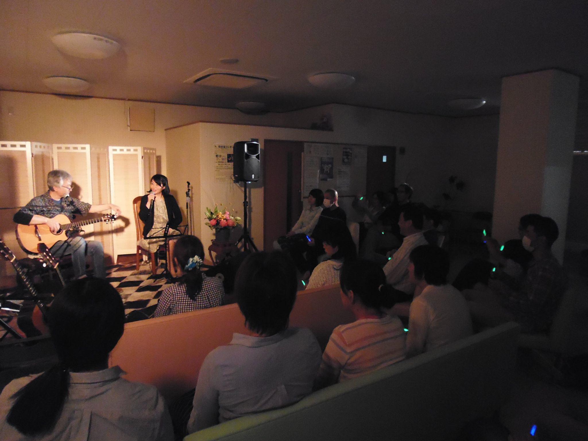 野分@さいとう小児科待合室コンサート~夢灯野外ステージ_a0334793_16012558.jpg