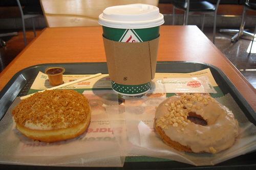 Krispy Kreme Doughnuts(クリスピー・クリーム・ドーナツ) 『ニューヨークチーズケーキ etc.』_a0326295_1225193.jpg