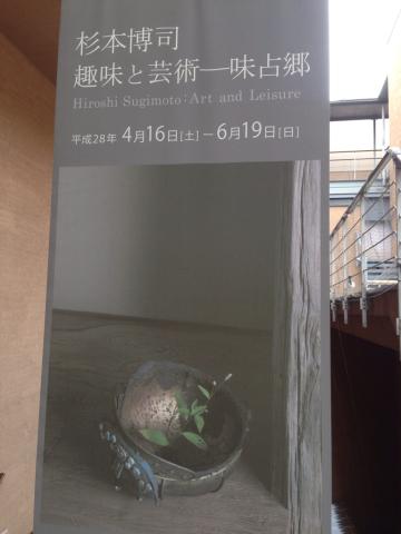杉本博司 「趣味と芸術  味占郷」_e0055098_10364633.jpg