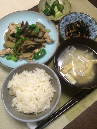 ナスの味噌炒め_d0235108_20105219.jpg