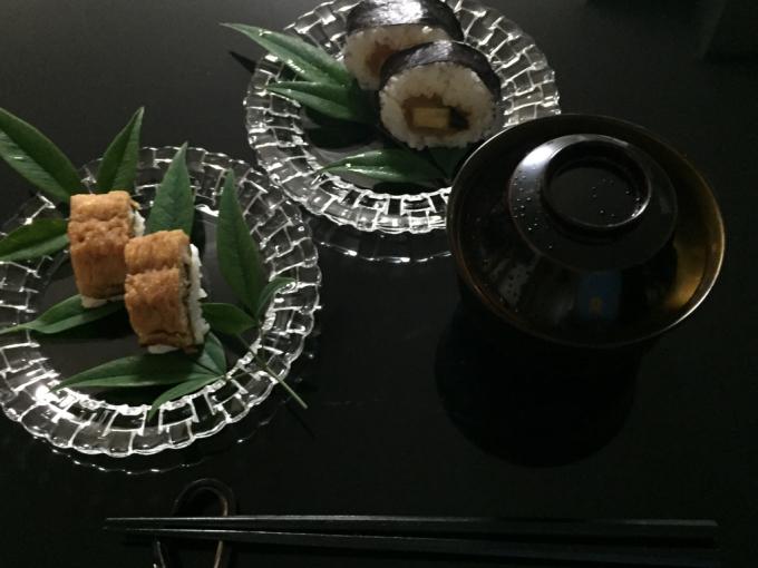 青もみじ と 鱧寿司_c0223630_11513865.jpg