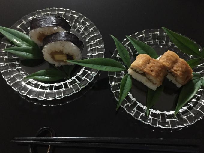 青もみじ と 鱧寿司_c0223630_11513960.jpg