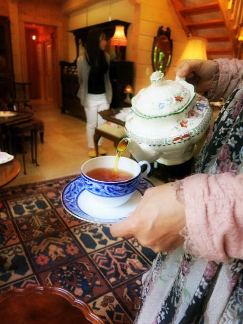 軽井沢で過ごす優雅な英国流TeaTime*ChaTea 紅茶教室_f0236260_1443362.jpg