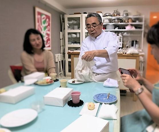 伊藤 郁さんに習う「基本の和菓子」 @maki cooking studio_f0236260_2101088.jpg