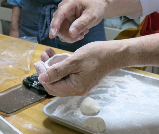 伊藤 郁さんに習う「基本の和菓子」 @maki cooking studio_f0236260_21245588.jpg