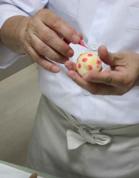 伊藤 郁さんに習う「基本の和菓子」 @maki cooking studio_f0236260_22455.jpg