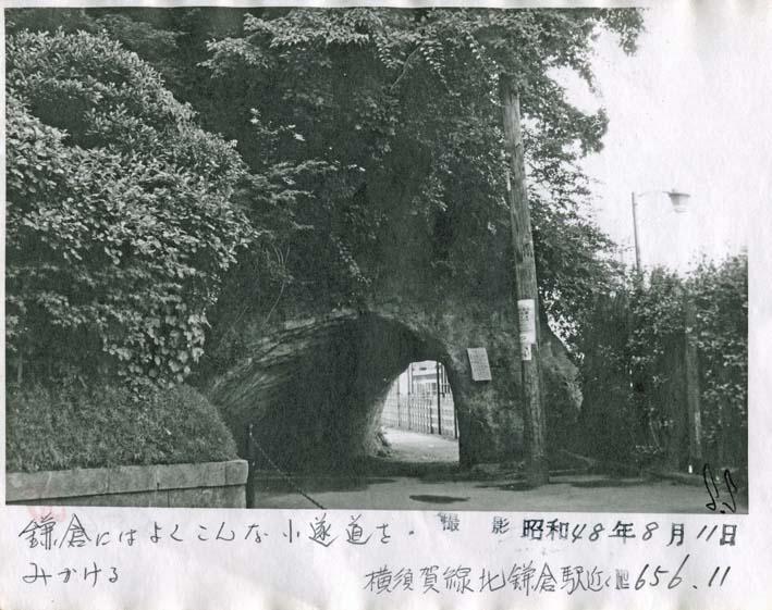 横須賀線は円覚寺の結界である緑の洞門避けて開通_c0014967_6473597.jpg