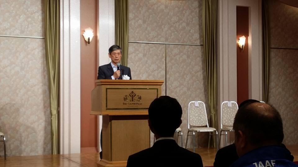 高村正彦副総裁の講演をお聴きし、安全法制の勉強をいたしました。_c0186691_1047566.jpg