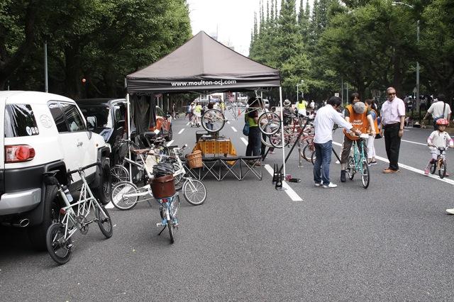 モールトン展 特別記念 自転車試乗会_e0132852_17574675.jpg