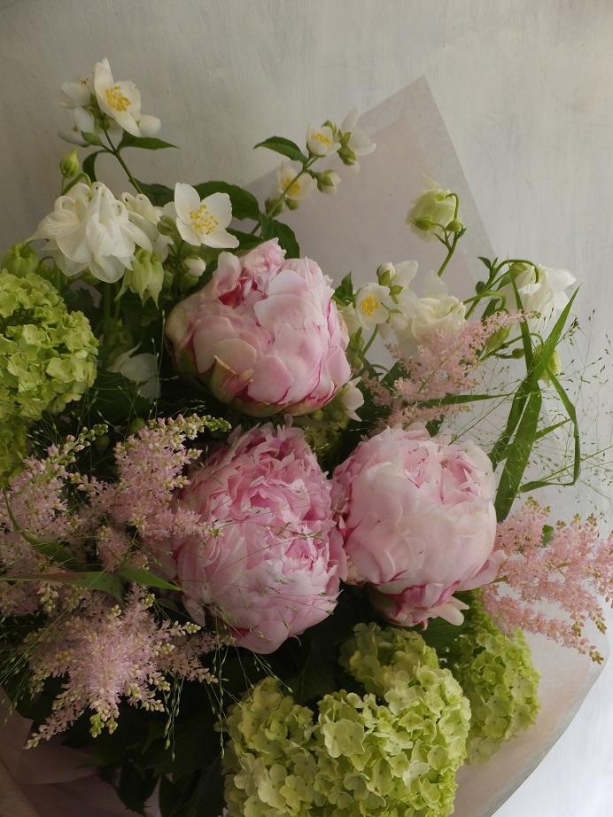 オークリーフ(母の日の花束)_f0049672_16425036.jpg