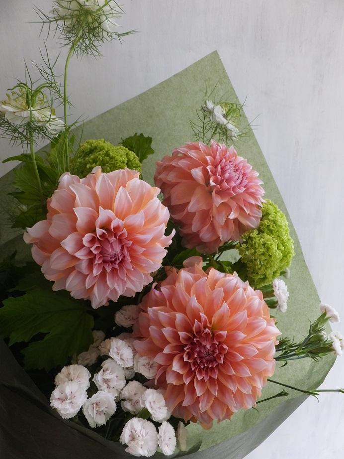 オークリーフ(母の日の花束)_f0049672_1643079.jpg