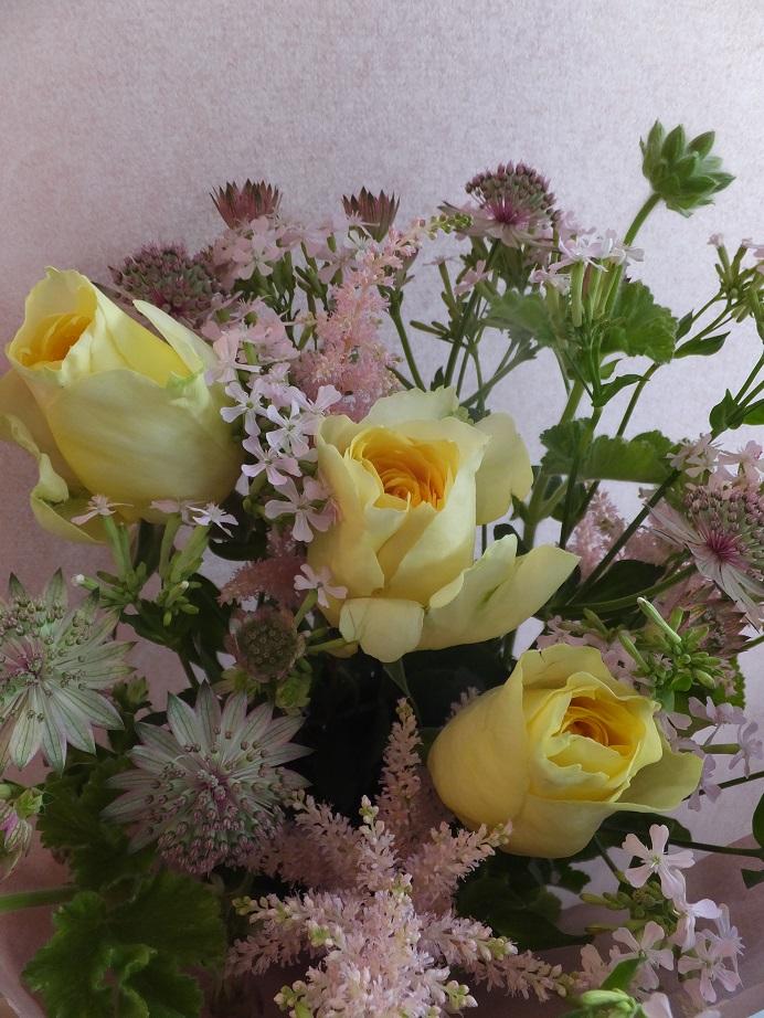 オークリーフ(母の日の花束)_f0049672_1643524.jpg