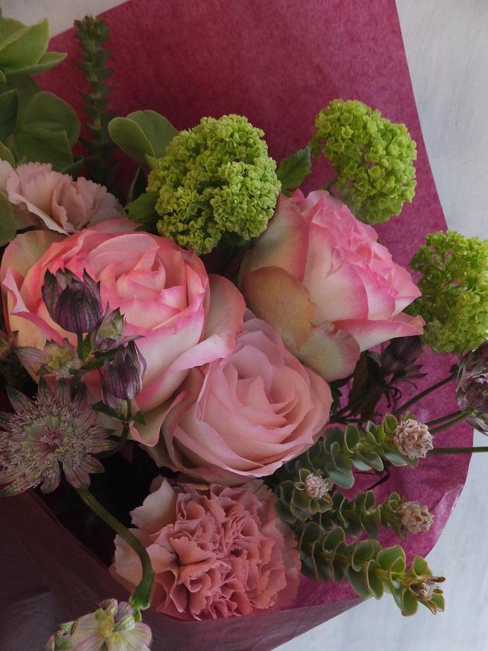 オークリーフ(母の日の花束)_f0049672_16493270.jpg