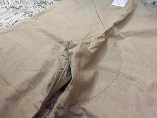6月1日(水)大阪店ヴィンテージ&スーペリア入荷!!#6 Military編Part1!WWII British SAS Drab Trousers!_c0078587_2322228.jpg