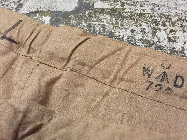 6月1日(水)大阪店ヴィンテージ&スーペリア入荷!!#6 Military編Part1!WWII British SAS Drab Trousers!_c0078587_233535.jpg