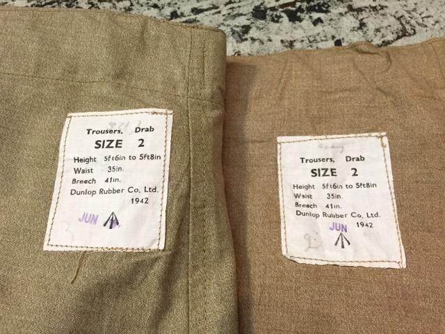6月1日(水)大阪店ヴィンテージ&スーペリア入荷!!#6 Military編Part1!WWII British SAS Drab Trousers!_c0078587_23463.jpg