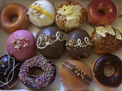 SOHOのドーナッツショップCrosstown Doughnuts_f0238789_23155979.jpg