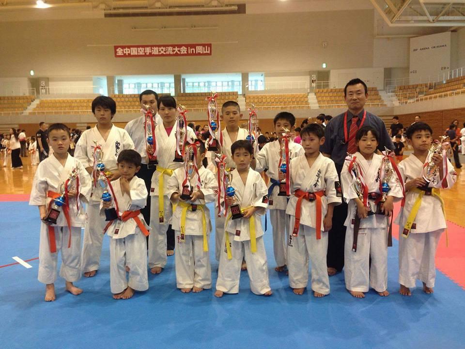 岡山市で開催された全中国交流大会で、みんなよく頑張ってくれました!_c0186691_1014424.jpg