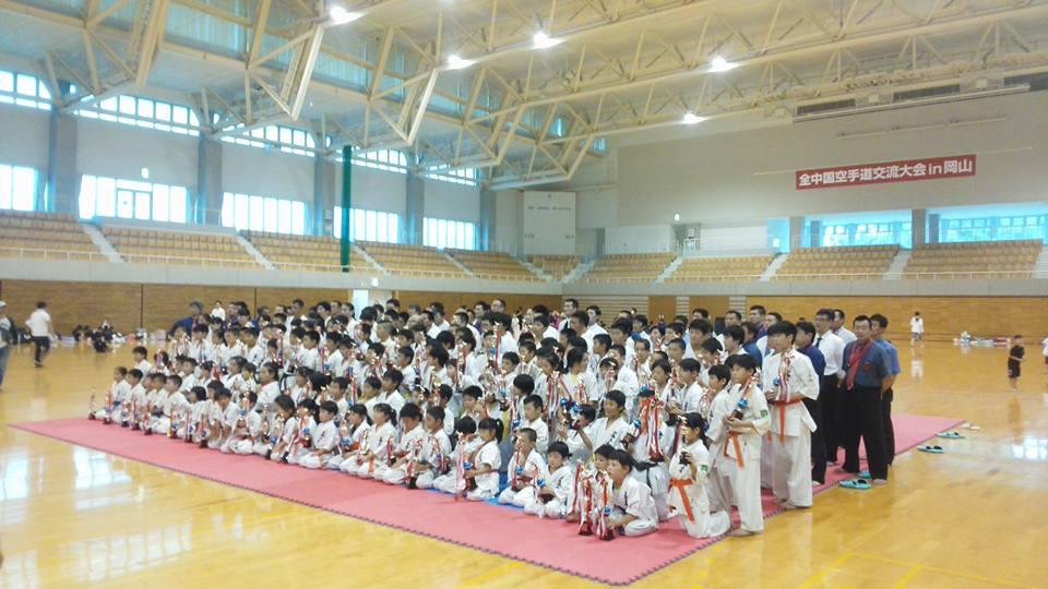 岡山市で開催された全中国交流大会で、みんなよく頑張ってくれました!_c0186691_1028445.jpg