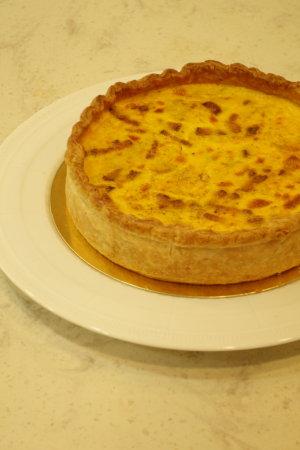 フランス料理:鶏の赤ワイン煮、サラダ・トロペジェンヌ他_b0254207_13424447.jpg