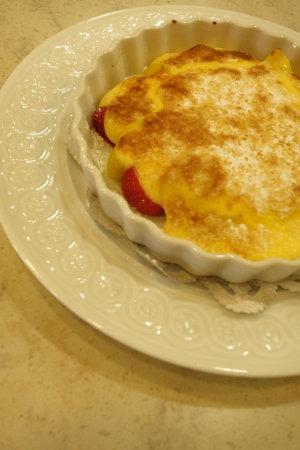フランス料理:鶏の赤ワイン煮、サラダ・トロペジェンヌ他_b0254207_13431346.jpg