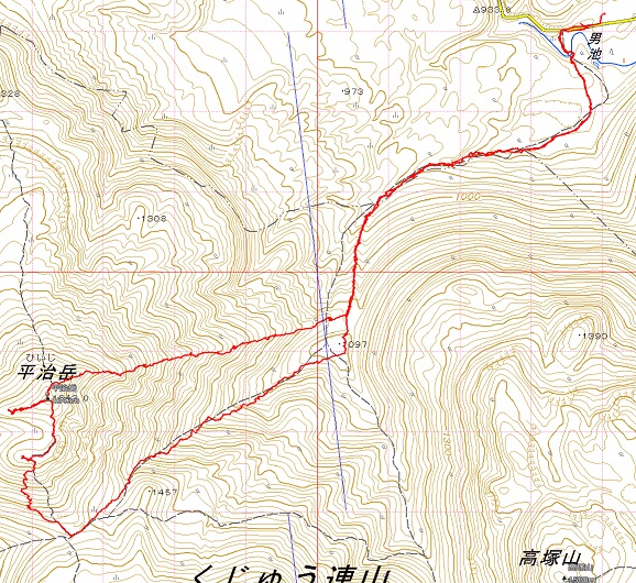ミヤマキリシマ・平治岳_e0164643_22201196.jpg