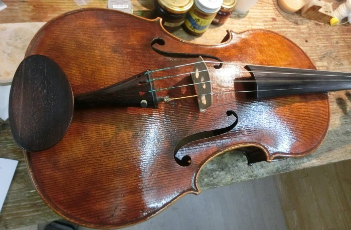 バイオリン 指板交換_d0299605_23415507.jpg