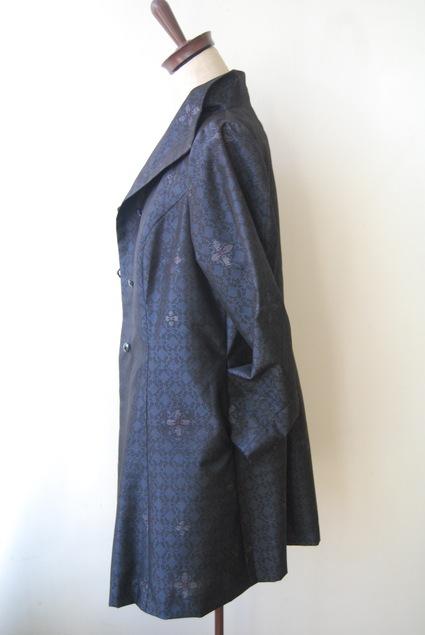 着物リメイク・大島紬からプリンセスラインジャケット&インナー_d0127925_1303513.jpg