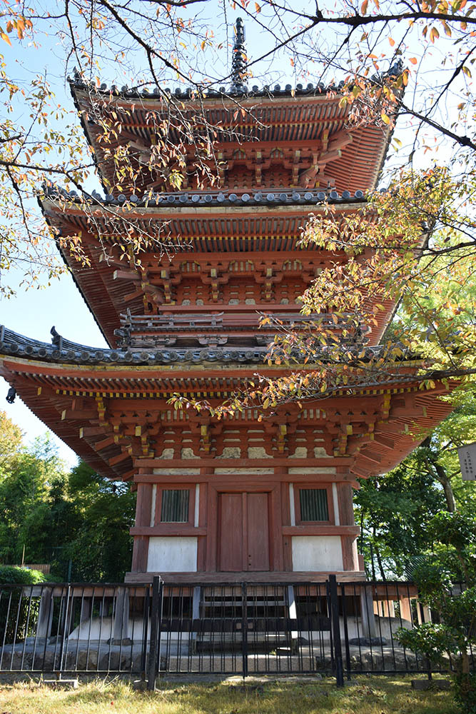 山崎合戦のまちを歩く。 その2 「大念寺~宝積寺」_e0158128_19135490.jpg