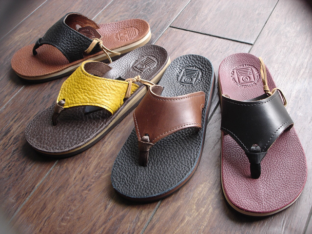 "NEW : THE SANDALMAN [BEACH WIDE] ""CHROMEXEL\""  & ""BULLHIDE"" 2016 SUMMER !_a0132147_21155477.jpg"