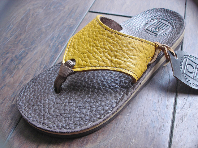 "NEW : THE SANDALMAN [BEACH WIDE] ""CHROMEXEL\""  & ""BULLHIDE"" 2016 SUMMER !_a0132147_2116866.jpg"