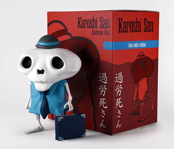 Karoshi San - Blue Collar Edition  by Andrew Bell_e0118156_16314715.jpg