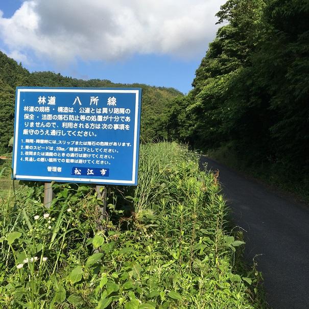 松江近郊のトレランコース④_d0007657_13365455.jpg