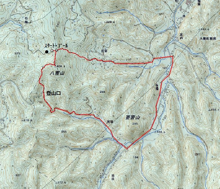 松江近郊のトレランコース④_d0007657_13411386.jpg