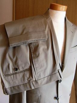 Spring&Summer スーツスタイル【Super Standard】編 その壱_c0177259_19105016.jpg
