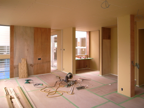 奈良津の家 大工工事完了_f0341886_11261115.jpg